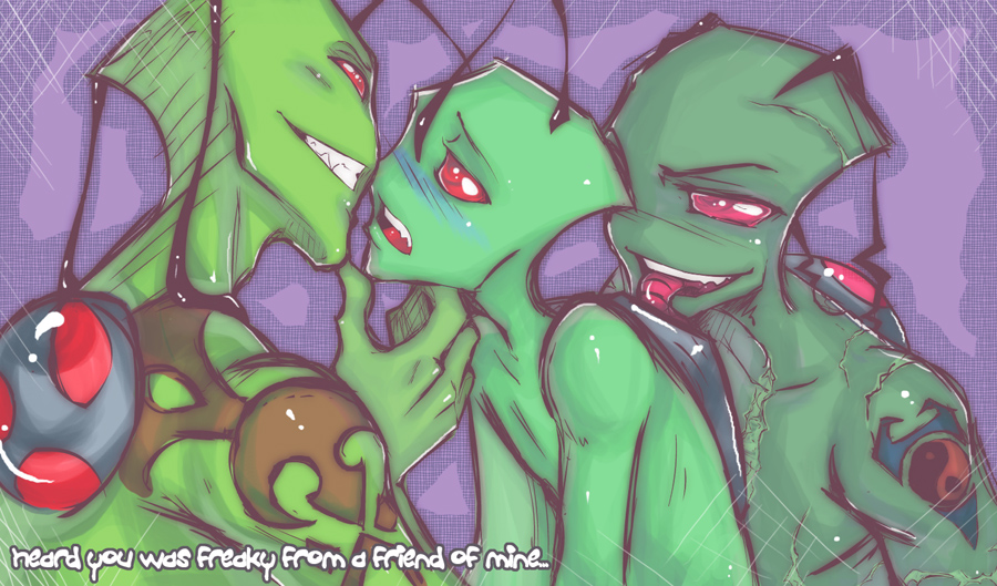 tall invader are tallest how the zim Scp-939-53