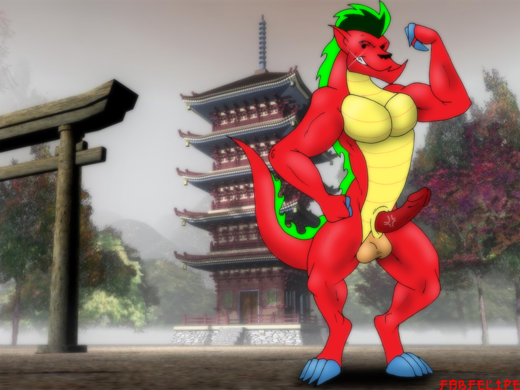 long dragon american jake spud stacey and Reuben from lilo and stitch