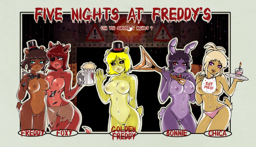 at foxy nights five freddy Beastboy and raven fanfiction lemon