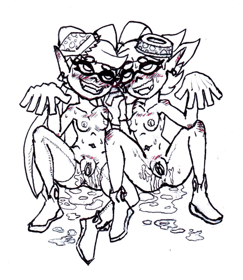 and callie fanart marie splatoon Max and ruby max naked