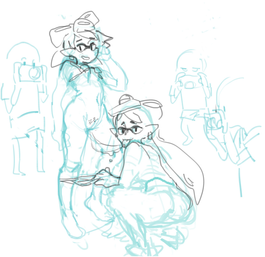 marie callie fanart and splatoon Hat in time hat adult
